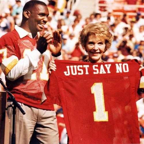 """The jersey is right: """"Just Say No."""""""