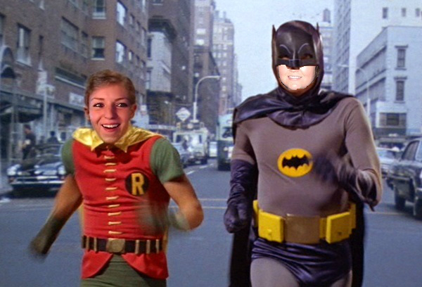 Batman And Robin Running