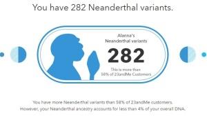 Alanna Neanderthal DNA